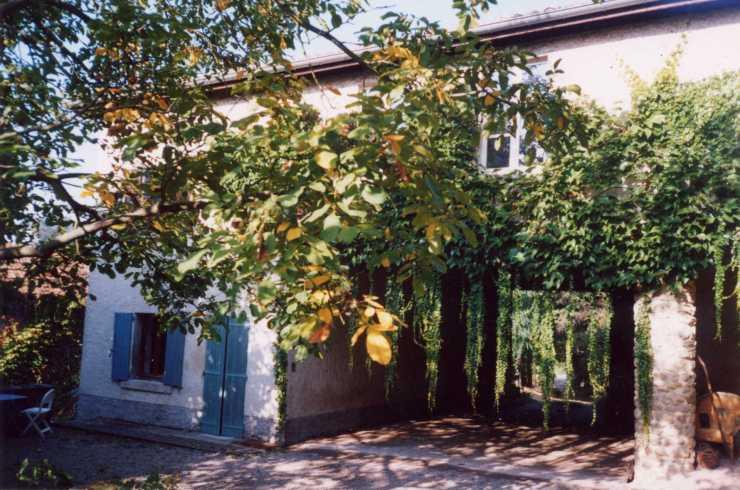 La note bleuecour&petite maison